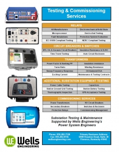 Testing and Commissioning Services Power Engineering